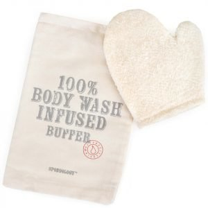 Spongellé Spongology Body Wash Infused Anti-Cellulite Glove Milk & Honey