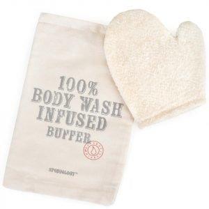Spongellé Spongology Body Wash Infused Anti-Cellulite Glove Milk & Honey
