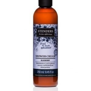 Stenders Shower Cream Blueberry Suihkuvoide 250 ml