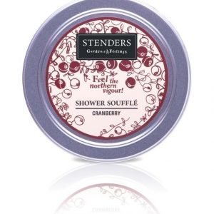 Stenders Shower Soufflé Cranberry Suihkuvaahto 170 g