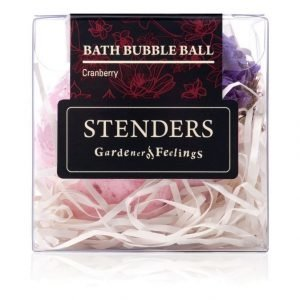 Stenders Sis Bubble Ball Bath Granberry Kylpyvaahtopallo 110 g