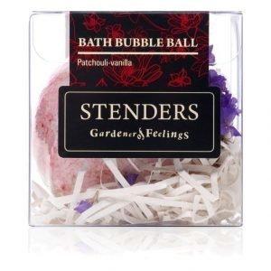 Stenders Sis Bubble Ball Bath Patchouli Vanilla Kylpyvaahtopallo 110 g