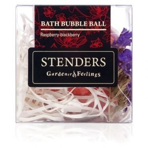 Stenders Sis Bubble Ball Bath Raspberry Blackberry Kylpyvaahtopallo 110 g