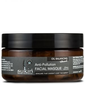Sukin Oil Balancing + Charcoal Anti-Pollution Facial Masque 100 Ml