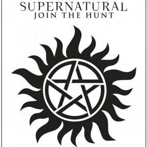 Supernatural Anti Possession Feikkitatuointi