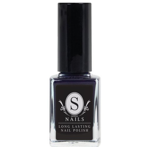 Sweden Nails Nail Polish Deep Blue