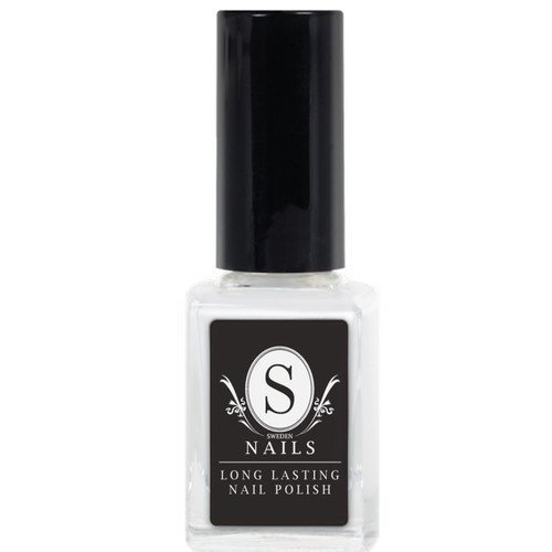 Sweden Nails Nail Polish White Snow