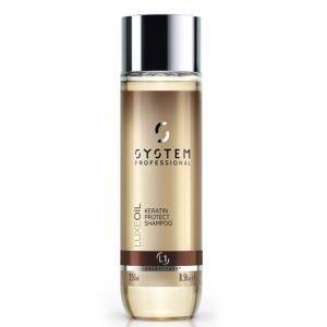 System Professional Luxeoil Keratin Protect Shampoo 250 Ml