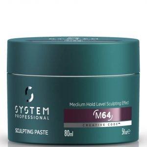 System Professional Man Sculpting Paste 80 Ml
