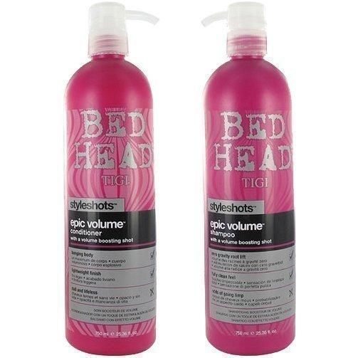 TIGI Bed Head Styleshots Duo Shampoo 750ml Conditioner 750ml