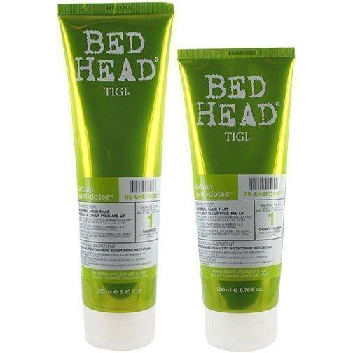 TIGI Bed Head Urban Re-Energize 1 Duo Shampoo 250ml Conditioner 200ml