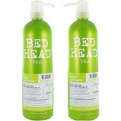 TIGI Bed Head Urban Re-Energize 1 Duo Shampoo 750ml Conditioner 750ml