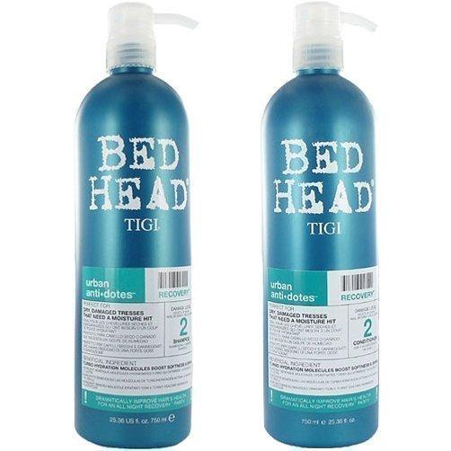 TIGI Bed Head Urban Recovery 2 Duo Shampoo 750ml Conditioner 750ml