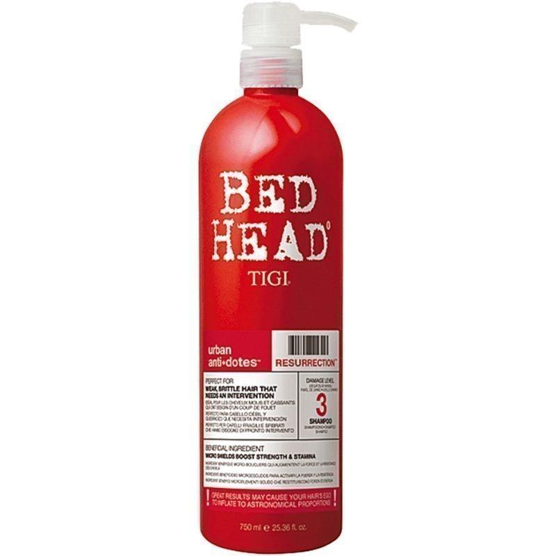 TIGI Bed Head Urban Resurrection 3 Shampoo 750ml