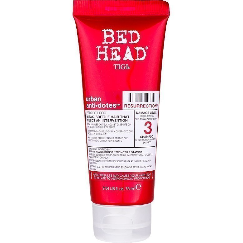 TIGI Bed Head Urban Resurrection 3 Shampoo Mini 75ml