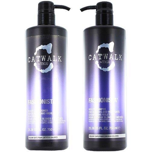 TIGI Catwalk Fashionista Duo Shampoo 750ml Conditioner 750ml
