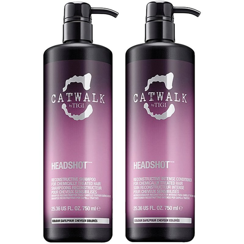 TIGI Catwalk Headshot Tweens Shampoo 750ml Conditioner 750ml