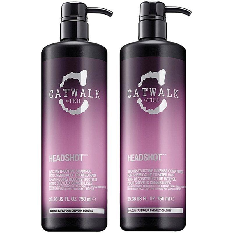TIGI Catwalk Headshot Tweens Shampoo 750ml Conditioner 750ml