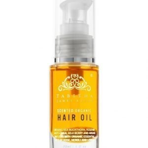 Tabitha James Kraan Scented Organic Hair Oil Amber Rose Hiusöljy 30 ml