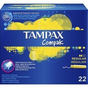 Tampax Compak Regular Tamponi 22 Kpl
