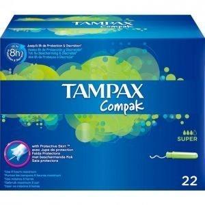Tampax Compak Super Tamponi 22 Kpl