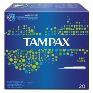Tampax Super Tamponi 20 Kpl