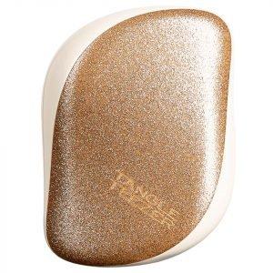 Tangle Teezer Compact Styler Hair Brush Gold Starlight
