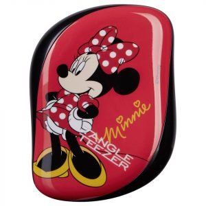 Tangle Teezer Compact Styler Hairbrush Disney Minnie Mouse Rosy Red