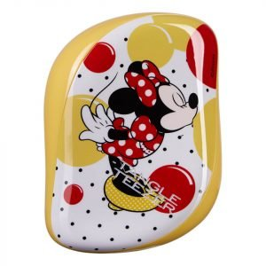 Tangle Teezer Compact Styler Hairbrush Disney Minnie Mouse Sunshine Yellow