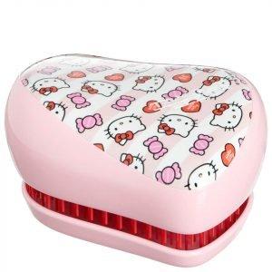 Tangle Teezer Compact Styler Hairbrush Hello Kitty Candy Stripes