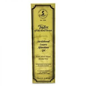 Taylor Of Old Bond Street Sandalwood Luxury Aftershave Gel 75 Ml