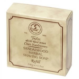 Taylor Of Old Bond Street Sandalwood Shaving Soap Refill 100 G