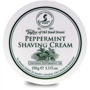 Taylor Of Old Bond Street Shaving Cream Bowl Peppermint 150 G