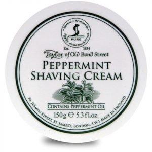 Taylor Of Old Bond Street Shaving Cream Bowl Peppermint 150 G
