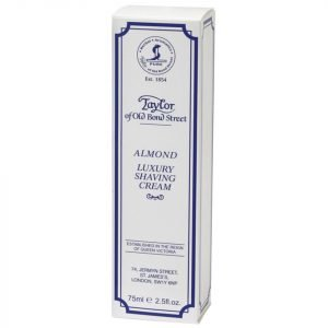 Taylor Of Old Bond Street Shaving Cream Tube 75g Almond