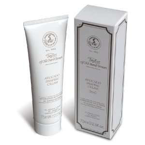 Taylor Of Old Bond Street Shaving Cream Tube 75g Avocado