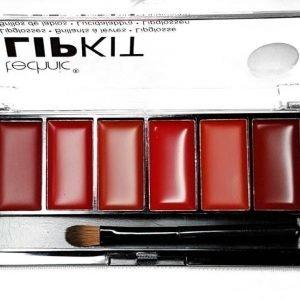 Technic 6 Colour Matte & Gloss Finish Lip Kit Huulipuna Paletti