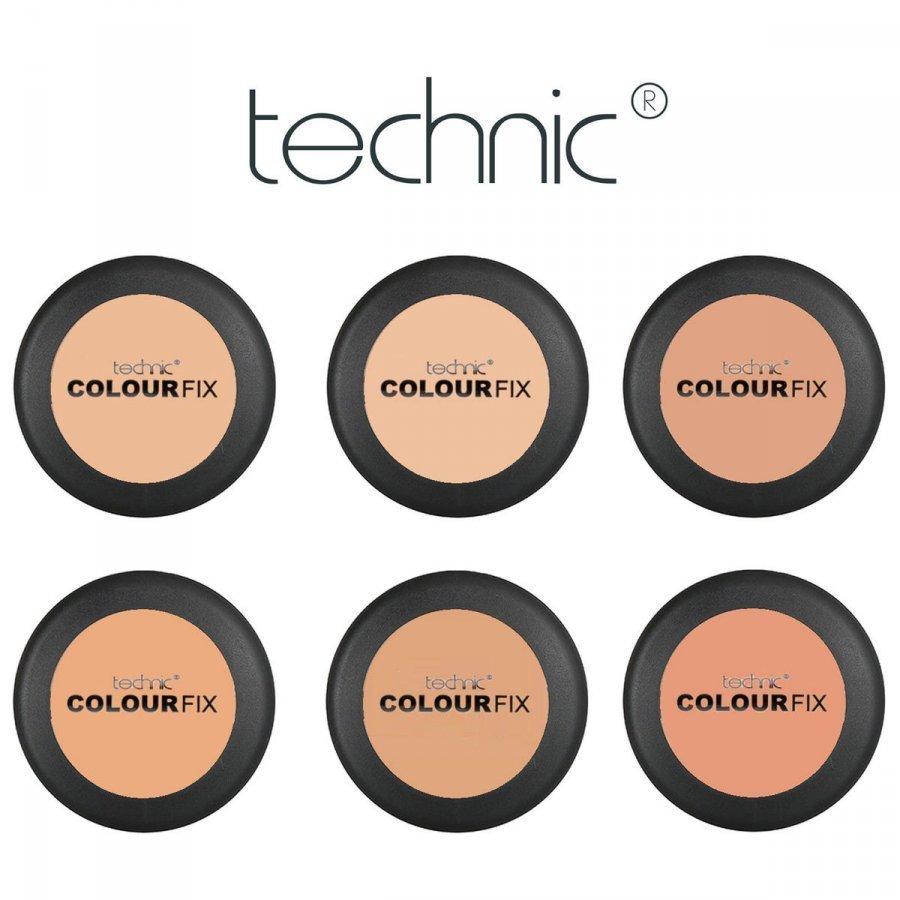 Technic Colour Fix Fine Pressed Puuteri 12g