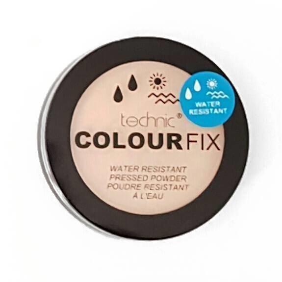 Technic Colour Fix Water Resistant Pressed Powder Puuteri