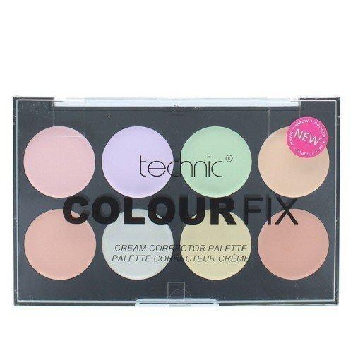 Technic Colourfix Cream Corrector Palette Korjausväri Paletti