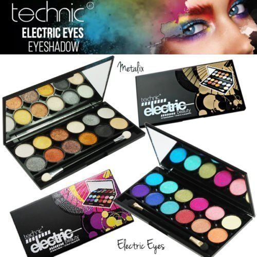 Technic Electric Beauty 12pcs Luomiväripaletti