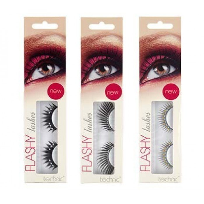 Technic Flashy False Eye Lashes Tekoripset Ja Liima