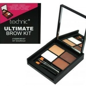 Technic Ultimate Eyebrow Kit Kulmaväripaletti