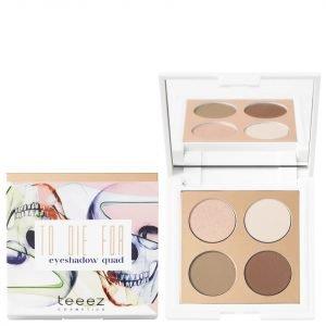 Teeez Cosmetics To Die For Eyeshadow Quad Cinnamon Revolution 71 G
