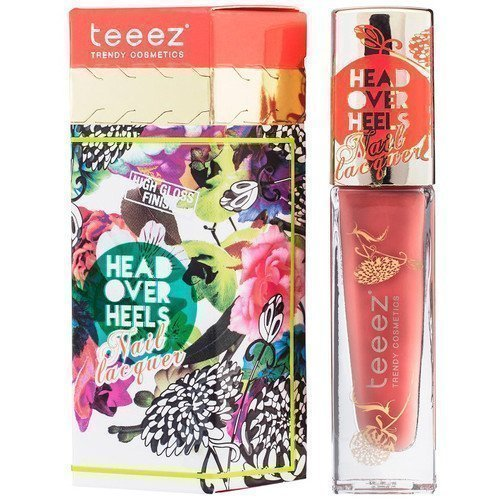 Teeez Head Over Heels Nail Lacquer Cadmium Rush