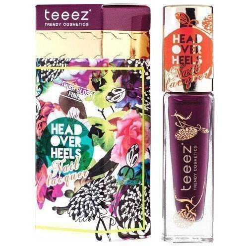 Teeez Head Over Heels Nail Lacquer Purple Haze