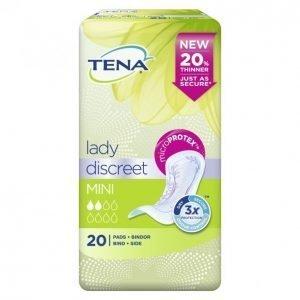Tena Lady Discreet Mini Inkontinenssisuoja 20 Kpl