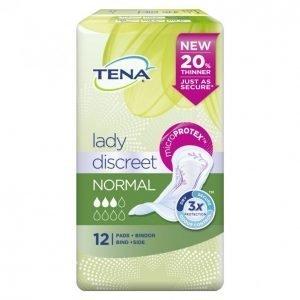 Tena Lady Discreet Normal Inkontinenssisuoja 12 Kpl