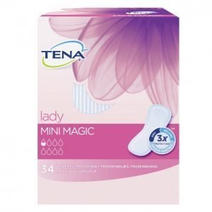 Tena Lady Mini Magic Inkontinenssisuoja 34 Kpl
