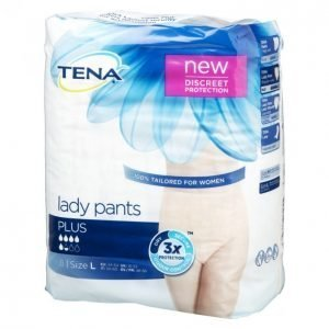 Tena Lady Pants Plus Large Inkontinenssisuoja 8 Kpl